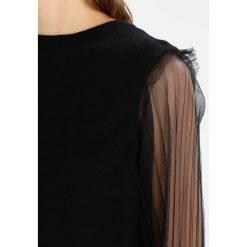 Swetry klasyczne damskie: Navy London VALENTINA Sweter black