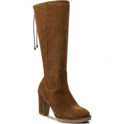 Kozaki LASOCKI - W562 Camel. Brązowe buty zimowe damskie Lasocki, z polaru, na obcasie. W wyprzedaży za 150,00 zł.