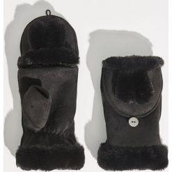 Rękawiczki z ociepleniem - Czarny. Czarne rękawiczki damskie marki Sinsay. Za 29,99 zł.