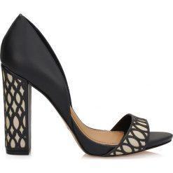 Sandały damskie: Czarne sandały damskie