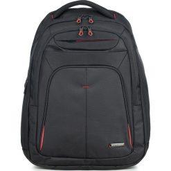 Plecak 56-3S-632-1A. Czarne plecaki męskie marki Wittchen, w paski, z poliesteru. Za 299,00 zł.