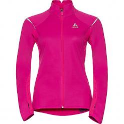 """Kurtka softshellowa """"Zeroweight"""" w kolorze różowym. Czerwone kurtki damskie marki Odlo Women, xs, z materiału. W wyprzedaży za 259,95 zł."""