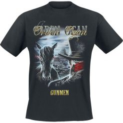 T-shirty męskie: Orden Ogan I am The Gunman T-Shirt czarny