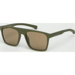 Calvin Klein - Okulary CKJ798S. Brązowe okulary przeciwsłoneczne męskie aviatory Calvin Klein, z materiału, prostokątne. Za 479,90 zł.