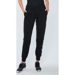 Adidas Performance - Spodnie Ess Lin. Szare bryczesy damskie adidas Performance, l, z bawełny. W wyprzedaży za 139,90 zł.