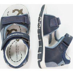 Lumberjack BILLY Sandały navy blue/blue. Czarne sandały męskie skórzane marki Lumberjack. Za 129,00 zł.