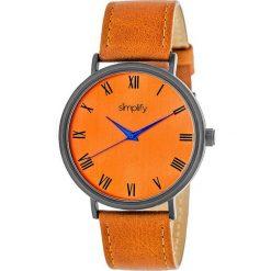 """Zegarki męskie: Zegarek kwarcowy """"the 2900"""" w kolorze pomarańczowo-antracytowym"""