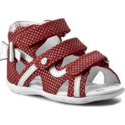 Sandały dziewczęce: Sandały BARTEK – 11707-1/1NN Czerwono Biały