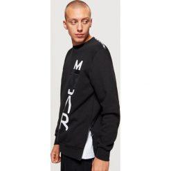 Bluza z kolekcji MODULAR - Czarny. Czarne bluzy męskie rozpinane marki Cropp, l. Za 129,99 zł.
