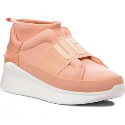 Sneakersy UGG - W Neutra Sneaker 1095097  W/Sntn. Czerwone sneakersy damskie Ugg, z materiału. Za 519,00 zł.