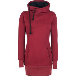 Bluzy damskie: Forplay Smart Hoodie Bluza z kapturem damska bordowy