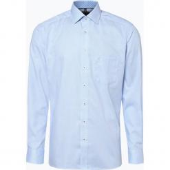 OLYMP Luxor modern Fit - Koszula męska – niewymagająca prasowania, niebieski. Białe koszule męskie non-iron marki DRYKORN, m. Za 179,95 zł.