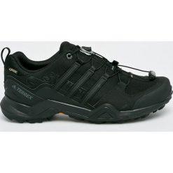 Adidas Performance - Obuwie CM7492. Czarne buty trekkingowe męskie marki adidas Performance, z gore-texu, na sznurówki, outdoorowe, gore-tex. W wyprzedaży za 499,90 zł.