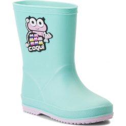 Kalosze dziewczęce: Kalosze COQUI – Rainy 8505  Mint/Candy Pink