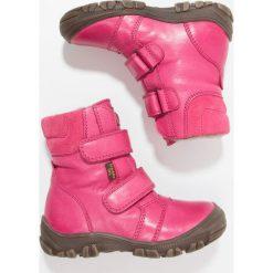 Froddo Śniegowce fuxia. Niebieskie buty zimowe damskie marki Froddo, z materiału, na wysokim obcasie. W wyprzedaży za 239,40 zł.