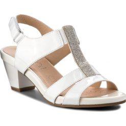 Sandały damskie: Sandały CAPRICE - 9-28208-20 White Patent 123