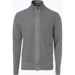 Swetry rozpinane męskie: Tommy Hilfiger - Kardigan męski – Tylor, szary