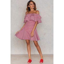 Sukienki: Trendyol Asymetryczna sukienka na jedno ramię – Red,Multicolor