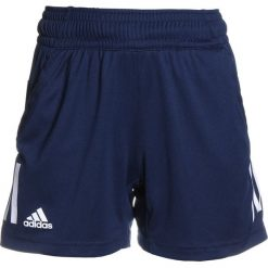Adidas Performance CLUB SHORT Krótkie spodenki sportowe conavy. Niebieskie spodenki chłopięce adidas Performance, z materiału, sportowe. Za 139,00 zł.