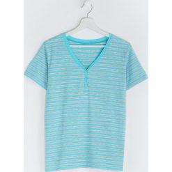 T-shirty damskie: Jasnoniebieski T-shirt Last But One