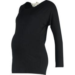 Bluzki asymetryczne: Envie de Fraise AMBER Bluzka z długim rękawem black