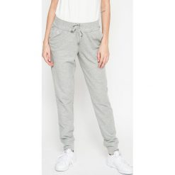 Lauren Ralph Lauren - Spodnie piżamowe. Szare piżamy damskie Lauren Ralph Lauren, l, z bawełny. W wyprzedaży za 199,90 zł.