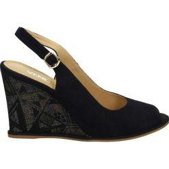Sandały damskie: Sandały - 403 Z-ETH BLU