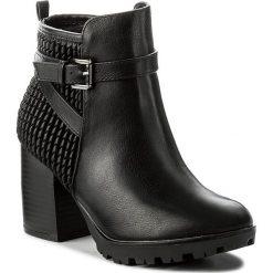 Botki JENNY FAIRY - LS4254-04 Czarny. Czarne buty zimowe damskie Jenny Fairy, ze skóry ekologicznej, na obcasie. W wyprzedaży za 90,99 zł.