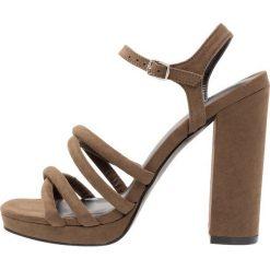 Sandały damskie: New Look REGINA Sandały na obcasie dark khaki