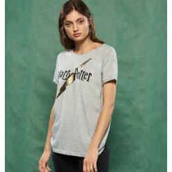 T-shirty damskie: T-shirt z nadrukiem harry potter - Jasny szar
