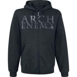 Bluzy męskie: Arch Enemy BoxSet Bluza z kapturem rozpinana czarny
