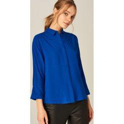 Koszula oversize - Niebieski. Niebieskie koszule damskie marki Mohito. Za 119,99 zł.
