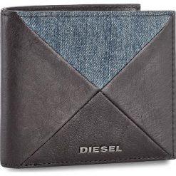 Duży Portfel Męski DIESEL - Neela S X05045 PS778 T8013. Czarne portfele męskie Diesel, z materiału. W wyprzedaży za 269,00 zł.