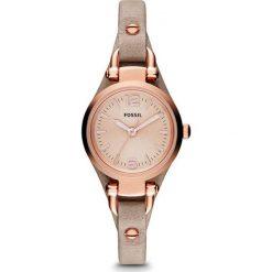 Fossil - Zegarek ES3262. Różowe zegarki damskie marki Fossil, szklane. Za 499,90 zł.