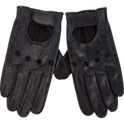 Rękawiczki Męskie WITTCHEN - 46-6L-381-1 Czarny. Czarne rękawiczki męskie Wittchen, ze skóry. Za 249,00 zł.
