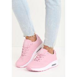 Różowe Buty Sportowe Hot Days. Czerwone buty sportowe damskie marki QUECHUA, z gumy. Za 79,99 zł.