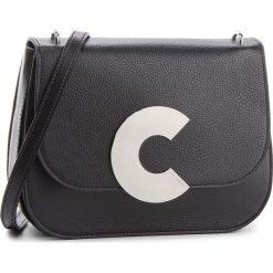 Torebka COCCINELLE - CN5 Craquante E1 CN5 12 01 01 Noir 001. Czarne listonoszki damskie Coccinelle, ze skóry. Za 1499,90 zł.