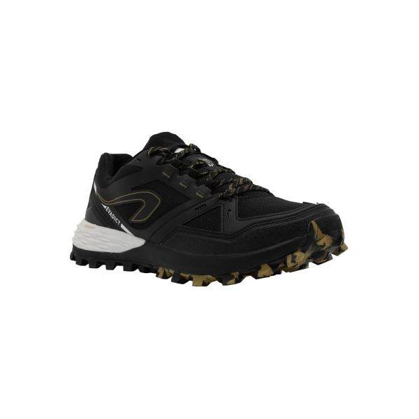 Buty do biegania męskie TRAIL MT2 czarno brązowe