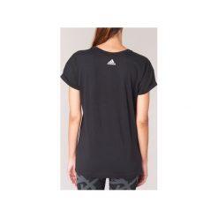 T-shirty z krótkim rękawem adidas  ESS LIN LO TEE. Czarne t-shirty damskie marki Adidas, l. Za 109,00 zł.