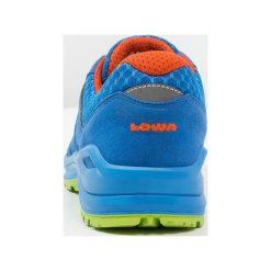 Buty trekkingowe chłopięce: Lowa MADDOX JUNIOR Półbuty trekkingowe royal/orange
