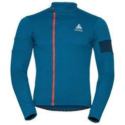 Golfy męskie: Odlo Golf Stand-up collar l/s full zip Lombardia niebeiski r. L (11302/20332/L)