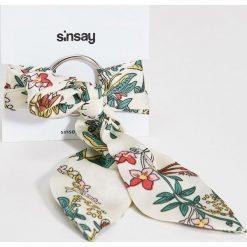 Bransoletki damskie na nogę: Bransoletka w kwiaty - Wielobarwn