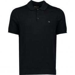 Koszulka polo w kolorze czarnym. Czarne koszulki polo marki Ben Sherman, m, z haftami, z bawełny. W wyprzedaży za 130,95 zł.