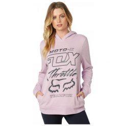 FOX Bluza Damska Throttle Maniac S Fioletowy. Szare bluzy damskie marki FOX, z bawełny. Za 245,00 zł.