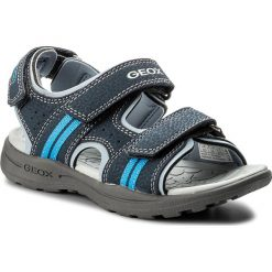 Sandały GEOX - J Vaniett B. B J825XB 015CE C4231 S Navy/Sky. Niebieskie sandały męskie skórzane Geox. Za 199,00 zł.