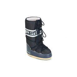 Śniegowce Dziecko Moon Boot  MOON BOOT NYLON. Niebieskie buty zimowe chłopięce Moon Boot, z nylonu. Za 263,20 zł.