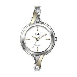 Zegarki damskie: Q&Q F637-401 - Zobacz także Książki, muzyka, multimedia, zabawki, zegarki i wiele więcej