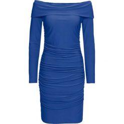 Sukienka bonprix niebieski. Czerwone sukienki z falbanami marki Mohito, l, z materiału, z falbankami. Za 99,99 zł.