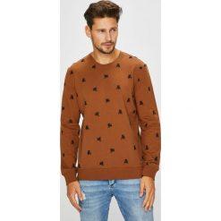 Medicine - Bluza Arty Dandy. Brązowe bluzy męskie rozpinane marki LIGNE VERNEY CARRON, m, z bawełny. Za 149,90 zł.