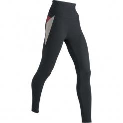 Legginsy sportowe, długie LEVEL1 bonprix czarno-szary melanż. Czarne legginsy damskie do fitnessu bonprix, melanż. Za 89,99 zł.